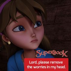 Superbook - Contact Us I Surrender All, I Care, Animation Series, My Mind, Enchanted, No Worries, My Heart, Rabbit, Prayers