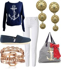 2013 Nautical fashion trends as spotted on MomFabulous.com