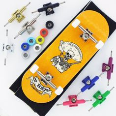 P-REP Bandito Complete Wooden Fingerboard - Pick Trucks and Wheels Real Skate, Tech Deck, Wooden Decks, Cool Toys, Awesome Toys, Kids And Parenting, Dog Lovers, Finger, Hobbies