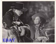Jeanette MacDonald Nelson Eddy VINTAGE Photo Girl Of The Golden West