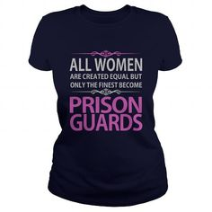 Prison Guards T Shirts, Hoodies. Check Price ==► https://www.sunfrog.com/Jobs/Prison-Guards-Navy-Blue-Ladies.html?41382