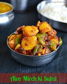 Potato Capsicum Curry Recipe