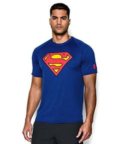 Lightweight UA Tech™ fabric with an ultra-soft, natural feel for unrivaled comfort. Signature Moisture Transport System wicks sweat & dries fast. Anti-odor technology prevents the growth of odor causing microbes. Smooth flatlock seams allow chafe-free motion. 3.9 oz. Polyester. Imported. Superman is property of ©DC Comics.