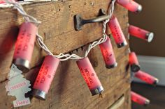 Pink Shotgun Shell Lights [Coonskin June] on Etsy