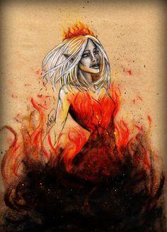 Aelin Galathynius - Fireheart