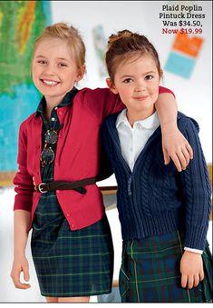 Source by nicolekisaly Little Girl Fashion, Toddler Fashion, Kids Fashion, School Uniform Fashion, School Uniform Girls, Outfits Niños, Kids Outfits, Preppy Baby Girl, Preppy Kids