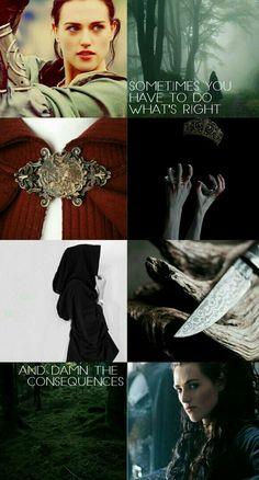 I love her so much! #Morgana #Merlin #Background #Aesthetics #BadAss #BBC #KatieMcGrath