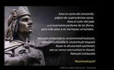 PDF Trece Rostros Prehispánicos Aztecas y sus Poemas: Nezahualcóyotl, Coyolchiuhqui, Axayácatl…   Cultura y Delicias Prehispánicas