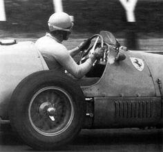 Alberto Ascari Ferrari  Gp Gran Bretagna Circuito Silverstone  Ferrari F Car Pictures