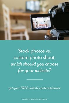 Can you get a good result with stock photography or should you invest in a photoshoot? Using the right photo will help clarify your message, increase your credibility, and create the reaction you want in your potential customer. Knowing where to search and what to look for is half the battle. I answer common questions about where to find the best images in this blog post. Get your FREE Website Content Planner here.