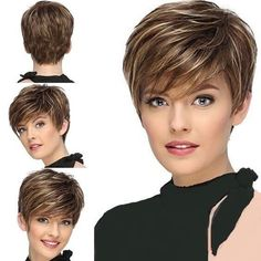 Jaw-Length Shaggy Haircut with Side Bangs - 70 Fabulous Choppy Bob Hairstyles – Best Textured Bob Ideas - The Trending Hairstyle Short Sassy Haircuts, Short Choppy Hair, Short Hair Undercut, Short Grey Hair, Short Thin Hair, Short Hairstyles For Thick Hair, Haircut For Thick Hair, Short Hair With Layers, Stacked Haircuts