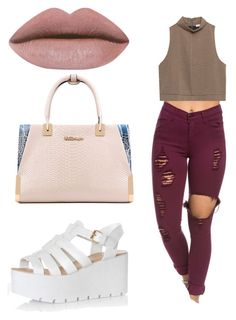 Untitled #12 by jerriyah-alanasia on Polyvore featuring polyvore, fashion, style, Zara, Glamorous and clothing