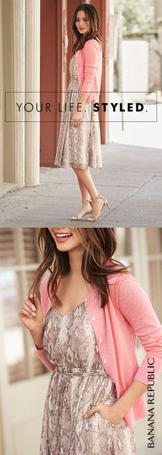 Flowy, flirty and oh so flattering: with a crisscross back and a belted waist, our snakeskin-print fit-and-flare dress is the summer dress that goes everywhere – just ask blogger, Jamie Chung.