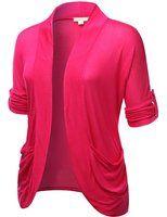 J.TOMSON PLUS Womens Rayon Open Cardigan Plus Size