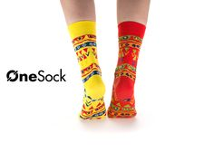 OneSock - Baltimore Yellow & Red