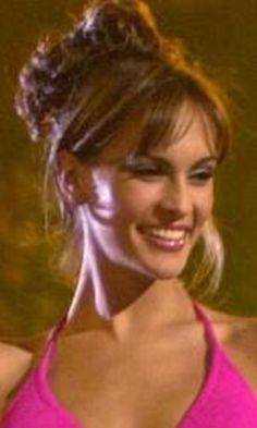 Miss Venezuela Srta Claudia Moreno, en su presentacion en Traje de Baño, en las Preliminares del Certamen de Miss Universe 2000...