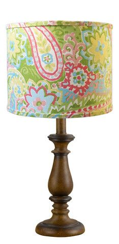 Spring Paisley Table Lamp | Jack and Jill Boutique