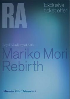 We've teamed up with the RA for their Mariko Mori exhibition.