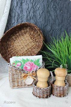 Поделка изделие Плетение Любовь похожая на сон   Трубочки бумажные фото 5
