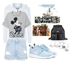"""""""Disneyland Outfit #3"""" by alejandra-cabrera-1 on Polyvore featuring Coach, Wildfox, Paul & Joe Sister, Topshop, NIKE and Alex and Ani"""