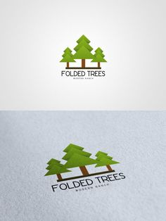 Folded trees #logo #design $500