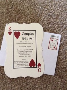 Panel Pocket - CLASSIC VEGAS - Vegas or poker Themed Wedding ...