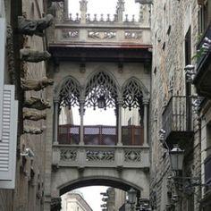 Gaudi's Barcelona. I've been here!!