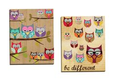 Be Different by Claudia Schoen 2 Piece Graphic Art on Wrapped Canvas Set
