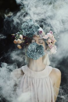 I Use Smoke Bombs To Create Powerful Portraits | Bored Panda