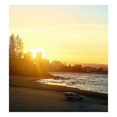 #snapperrocks #sunset #gold #bestofgoldcoast  by ms__mel_