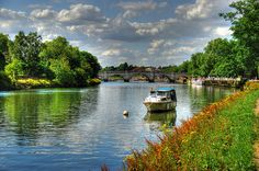 Thames River in England