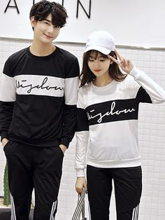 Mix Colors Long Sleeve Couple Hoodies _Couples shirts_WHOLESALE CLOTHING_Wholesale clothing, Wholesale Clothes Online From China