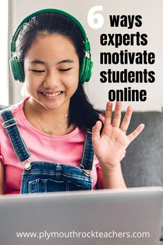 How do we get students to want to log in and engage in our classes each day? How do we get them excited to learn in this new way? After some careful research and talking to colleagues who have taught online for years, I've come up with six ideas that teachers of all grade levels could use.