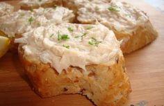 Recept: Falešný humr + humrová a krabí pomazánka Party Snacks, Baked Potato, Ham, Mashed Potatoes, Good Food, Food And Drink, Appetizers, Drinks, Cooking
