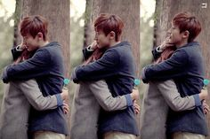 Everytime i watch this mv i will imagine if i were that girl  How lucky is that girl hugged by chanyeol!!!