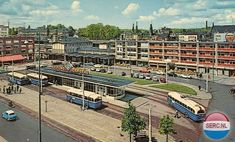 Arnhem, Netherland, station - old postcard Operation Market Garden, The Province, Old Postcards, Rotterdam, Holland, Dutch, Mansions, Architecture, House Styles