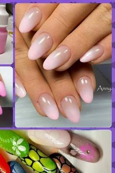 Nude/beige nails.