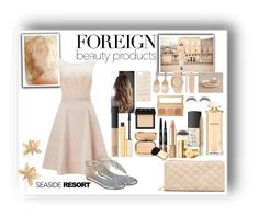 """""""Untitled #49"""" by madhu-147 ❤ liked on Polyvore featuring Anne Klein, Salvatore Ferragamo, Lipsy, Nine West, Bare Escentuals, Dolce&Gabbana, NARS Cosmetics, Pixi, Tory Burch and Stila"""