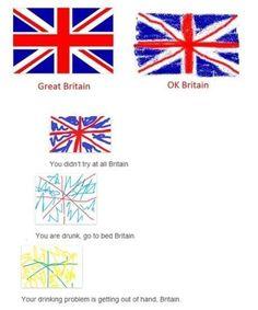 "OH MY GOD!!!!!!!! BRITAIN!!!!!!!!! NO SMOKING CRAYONS BRITAIN!!!!!!!!!!! NOOOOOOOOOO!!!!!!!!!!!!!!!!!!! *crash* Britains: *drunk singing* And he said ""I wish that I could be like the cool kids..."