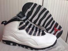 outlet store 0f5e2 65a06 AIR JORDAN 10 RETRO Black White Jordan 10, Jordan Retro 10, Nike Air