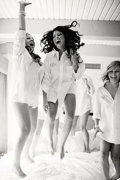 Jump for joy! Wedding Party is giving one lucky bride and 8 bridesmaids over $1000 in wedding goodies!