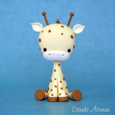 Giraffe Topper by Crumb Avenue