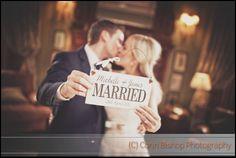 Castle Leslie Wedding - Just Married
