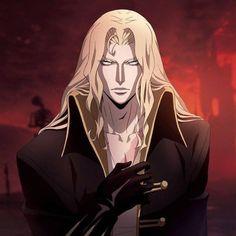 Adrian Fahrenheit Tepes Alucard Castlevania, Castlevania Netflix, Manga Art, Manga Anime, Anime Art, Dracula, Castlevania Wallpaper, Face Drawing Reference, Vampire Art