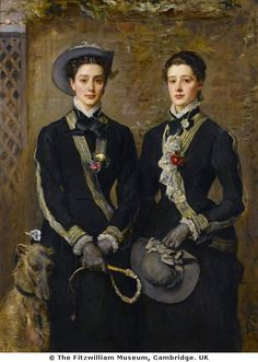 The Twins, Kate and Grace Hoare by John Everett Millais, 1876