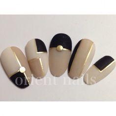 different shaped nails Fancy Nails, Trendy Nails, Diy Nails, Cute Nails, Marine Nails, Japan Nail, Geometric Nail Art, Japanese Nails, Manicure E Pedicure