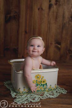 Vintage baby| Kansas City Photographer #vintage #photography