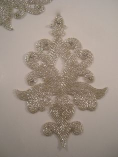 Large Classic Design Crystal and Rhinestone Beaded Applique--One Piece.   14.88, via 19ecacb38b4