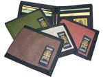 100% Hemp Bifold Wallet - Proudly Made in Canada