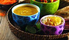 Gujarati Thali with Lentil & Basmati (vegetarian) by Chef Michael Smith Lentil Bean Recipe, Best Lentil Recipes, Indian Food Recipes, Vegetarian Recipes, Vegan Soups, Vegetarian Cooking, What's Cooking, Vegan Meals, Healthy Recipes